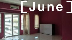 Sathu Terrace 2 storey Partially Furnished Bayan Lepas near airport