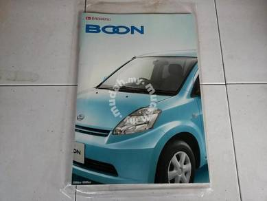 Catalog Original Japan daihatsu boon 04 myvi