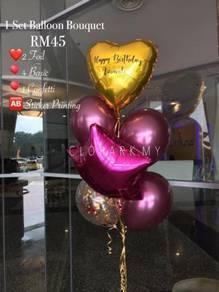 Balloon Bouquet Surprise