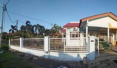 Single storey terrace corner lot with extra land bukit katil