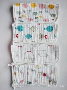 4 pcs Baby handkerchief