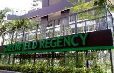 Greenfield regency tampoi indah full loan unit