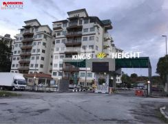 SKY [RENT] Partially Furnished Unit Kings Height Jelapang Meru