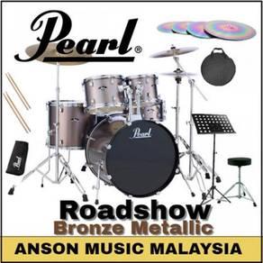 Pearl Roadshow Drum Set w/BSL Rainbow Cymbal Set