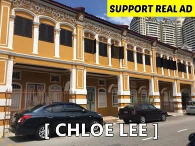 5 Adjoining Heritage Prewar House at Jalan Seang Tek,Near Times Square