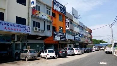3 storey shophouse, Kuantan Town Centre