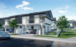 New 2 Sty Freehold 0% D/P Rawang Kota Emerald Near Town 20x60
