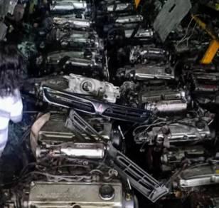 Enjin 4g93 blok head intake for wira