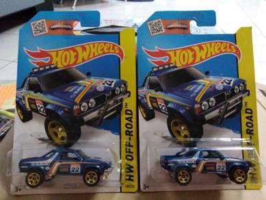Hotwheels Subaru Brat Blue