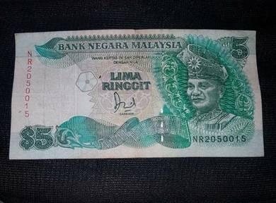 Wang Kertas Malaysia Rm 5 Ringgit