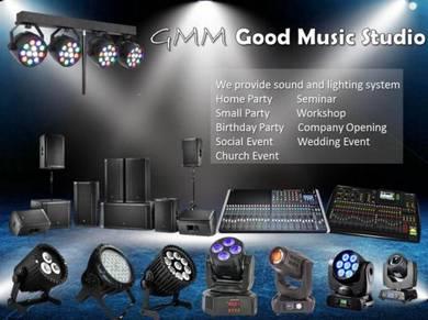 Budget Rental Sound System For wedding & Event