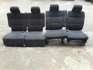 Seat daihatsu L150 sambung hitam utk viva