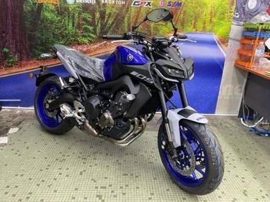Yamaha mt-09 ready stock /murah rendah deposit