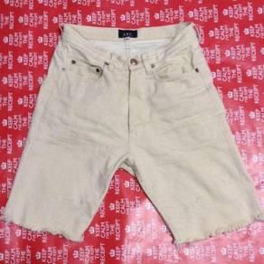 A.p.c shorts denim