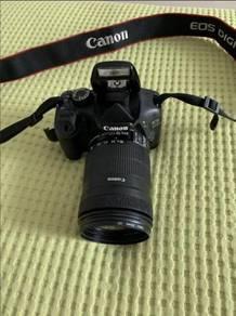 Canon EOS 550D 18-135 mm LENS