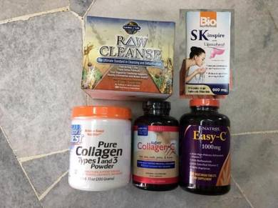 Collagen , detox and beauty item USA