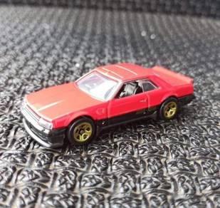 Hotwheels Red Nissan Skyline R30