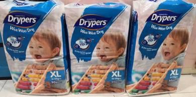 Drypers Pamper size XL 3pkt