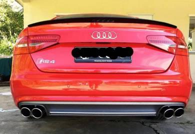 Audi S3 S4 S5 S6 S7 Diffuser