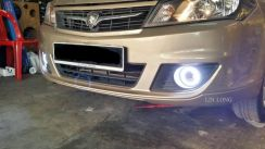 Saga fl myvi Projector Sport Fog Lamp Light Led