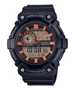 Watch - Casio World Time AEQ200W-1A2 - ORIGINAL