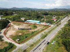 1.55 Acres Tuaran Roadside Commercial Land 0% GST