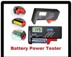Battery Tester Universal Battery Checker for AA AA