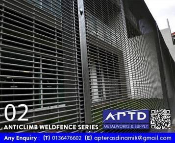 Anticlimb Fence / BRC Fence / Ironworks
