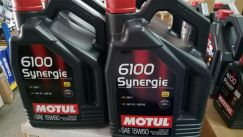 Motul 6100 synergie 15w50 engine oil 5l