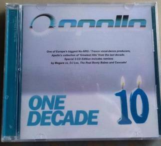 IMPORTED CD Appollo One Decade Greatest Hits 2CD