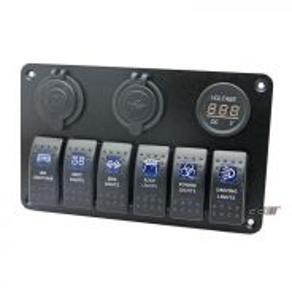 NEW 12V 20A Rocker Toggle Light Switch 4WD 4X4