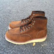 Red wing 875 coffee brown leather
