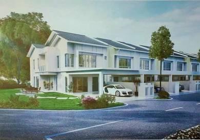 Double Storey House At Seremban