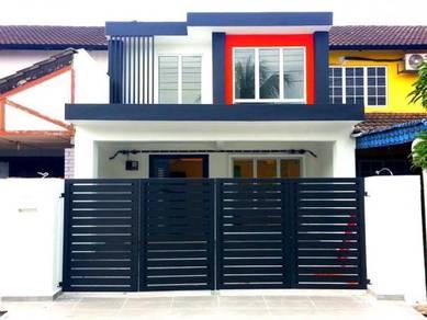 SPA FREE*100% NEW RENO 2Sty Terrace House, Taman Kantan Permai, Kajang