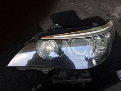 E60 head lamp facelift xenon Lh