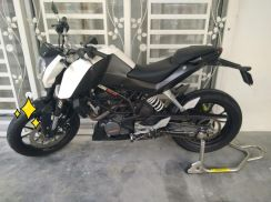 Ktm duke 200 with abs 2013