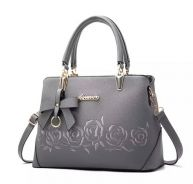 Grey ladies handbag
