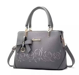 Grey ladies handbag