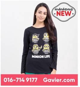 Baju Minions Long Sleeve Tee *Free Shipping