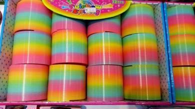 Mainan Kanak Kanak Spring Rainbow