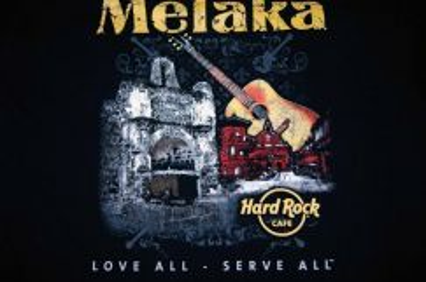 T Shirt Hard Rock Cafe - MELAKA CITY [L] NEW