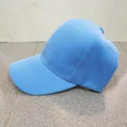 Unisex Baseball Cap Hip Hop Hat (Blue)