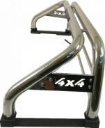 4X4 Stainless Steel Sport Roll Bar with Light