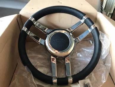 Land rover defender Kahn Design steering wheel