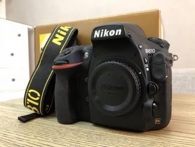Nikon D810 body (Sc18k)