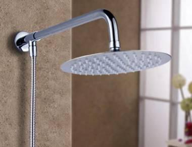 New SUS304 Rain Shower Head Set 10