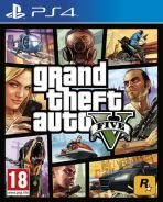 PlayStation 4 GTA 5 - Grand Theft Auto PS 4 (R3)