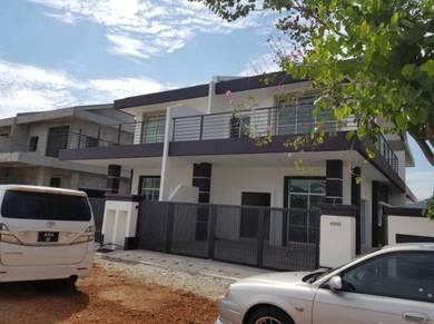 Cluster Semi-D house at Bercham, Ipoh, Perak