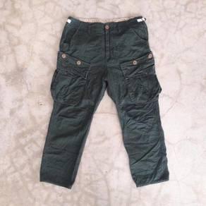 4q military kargo short pants brand browny - 32