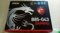 Motherboard gaming msi cpu